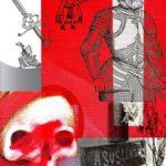 Cortés Rojo Profundo / Size: 32x26 in. / Series: Series: Conquest