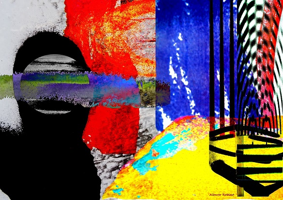 Landscape Now / Size: 26x31 in. / Series: Digital Abstract
