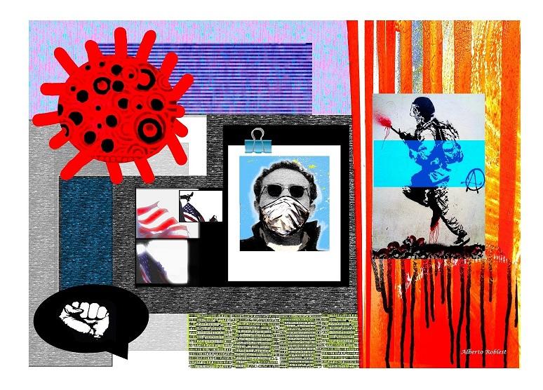 Digital Print. 44x38 in. Alberto Roblest